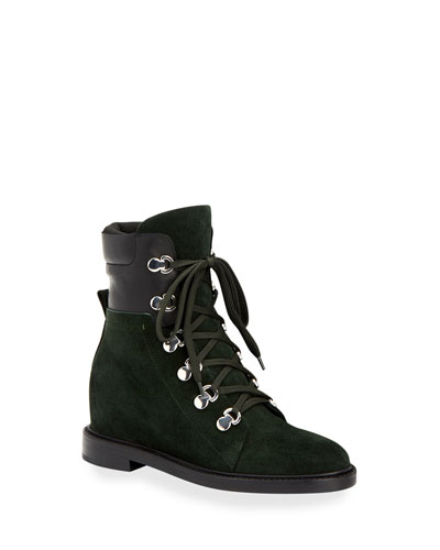 Clarissa Lace-Up Hiker Boots