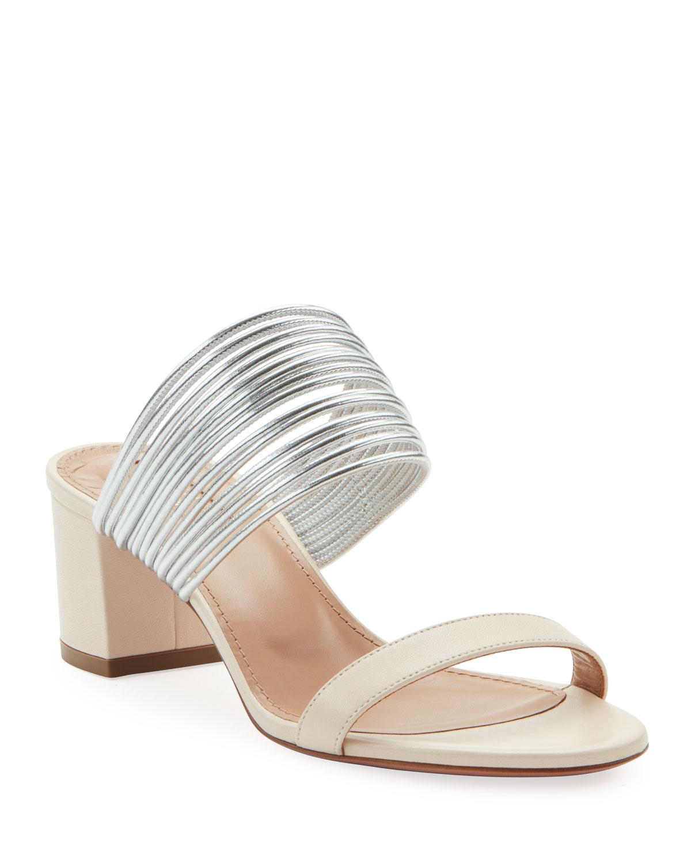 Aquazzura Sandals RENDEZ VOUS SLIDE SANDALS
