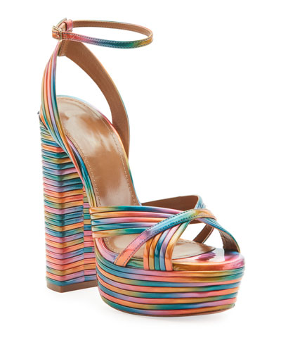 Sundance Plateau Rainbow Platform Sandals