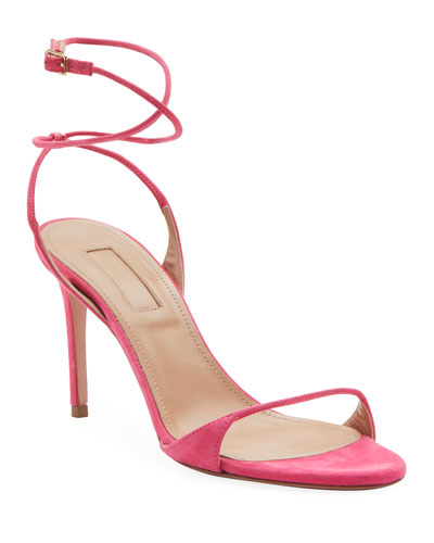 Minute Suede Strappy Pumps