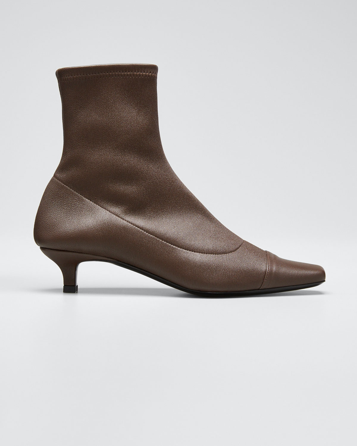 By Far Boots KARL STRETCH LEATHER BOOTIES