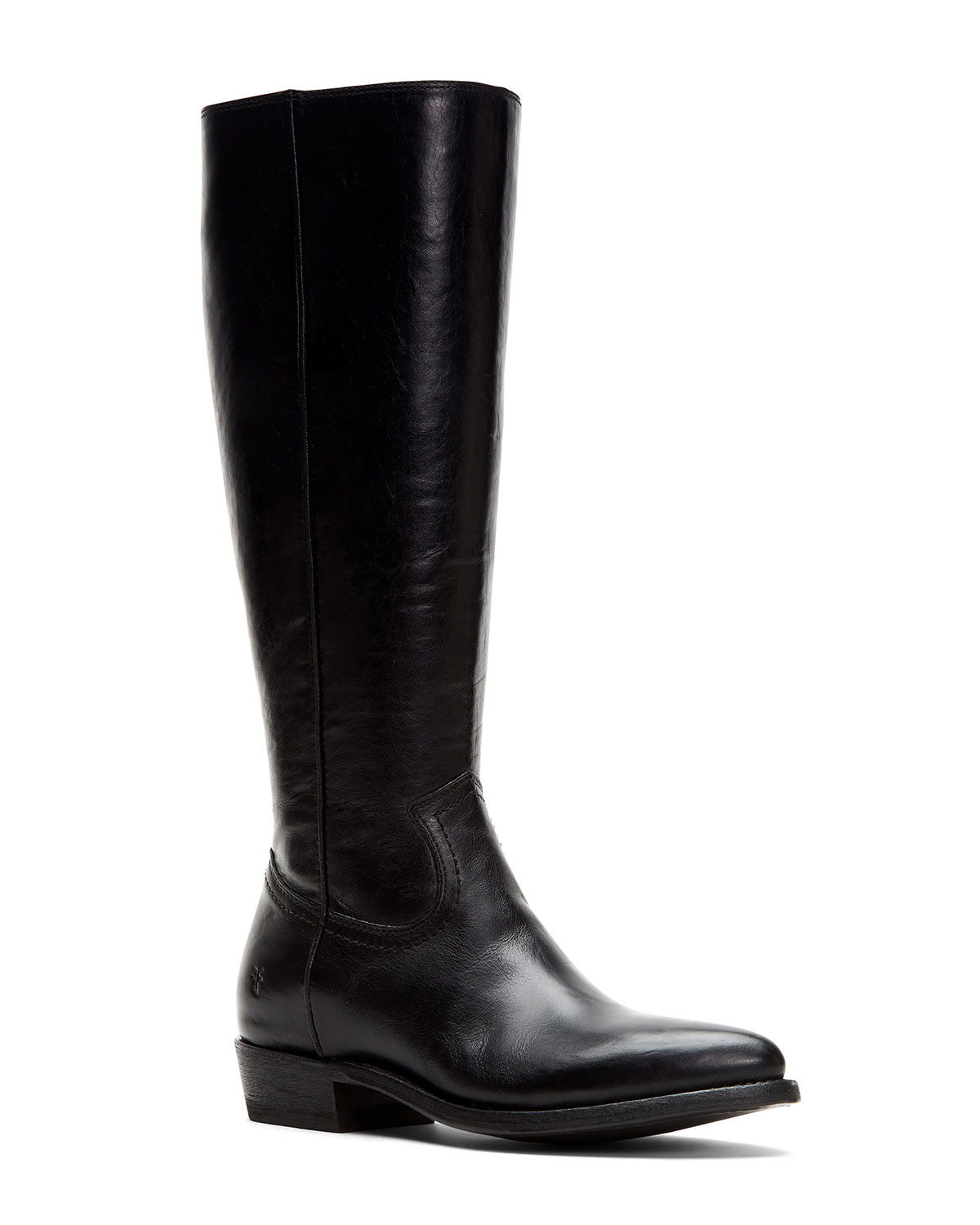 Frye Boots BILLY TALL LEATHER WESTERN BOOTS