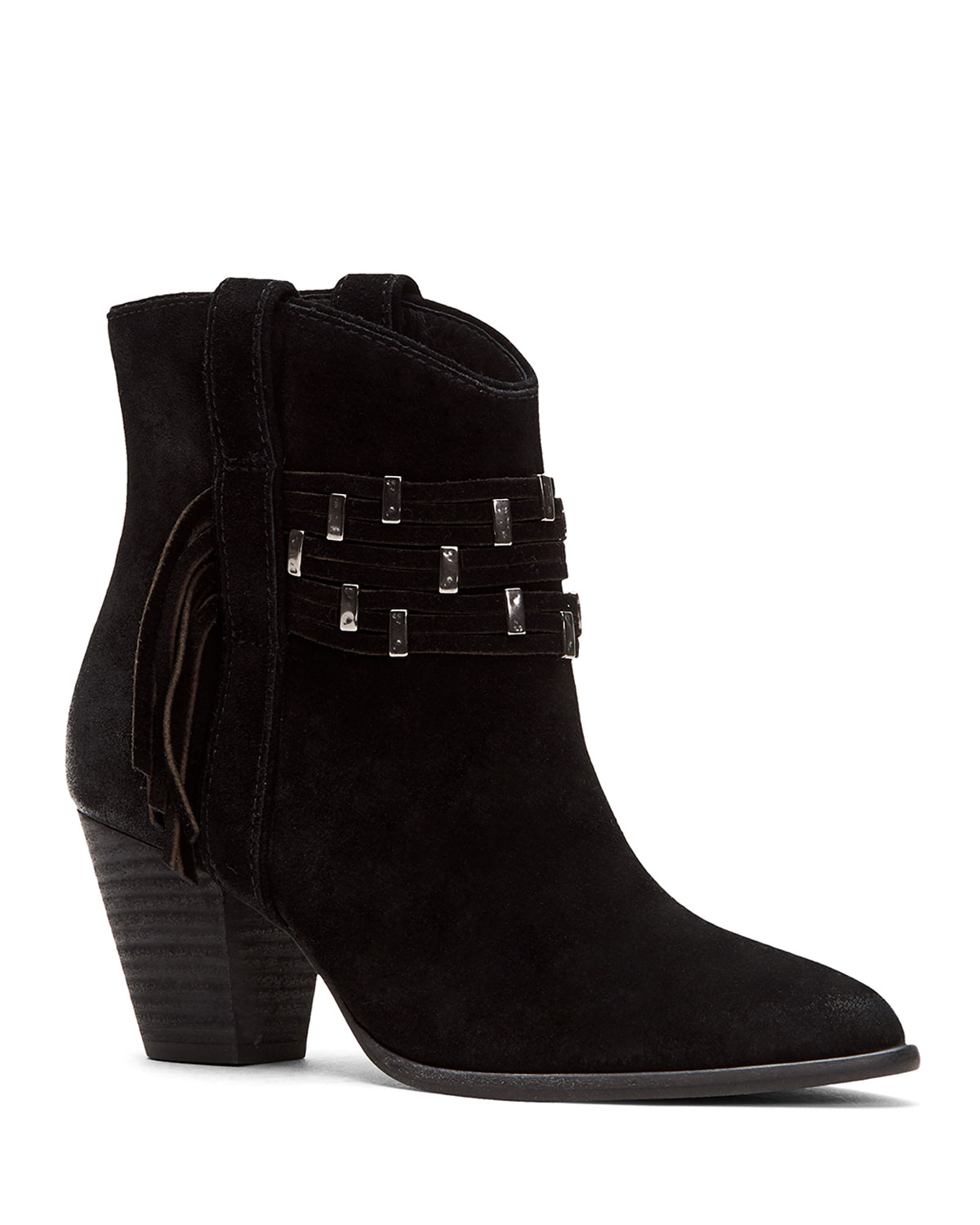 Frye Boots REED SHOWDOWN STUDDED BOOTIES