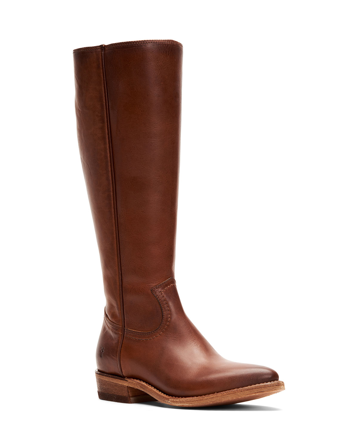 Frye Boots BILLY ZIP TALL LEATHER BOOTS