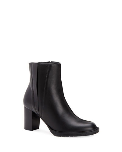 Betsy Split Leather Booties