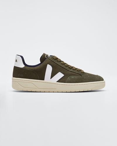 V12 Knit Flat Sneakers