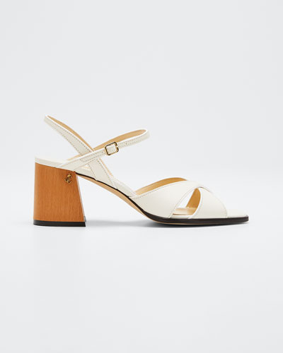 Joya 65mm Leather Sandals