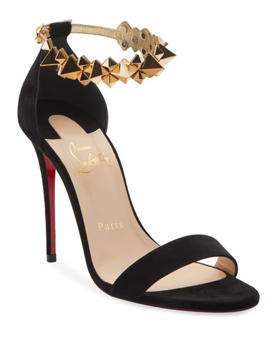 Planetava Spike Red Sole Sandals