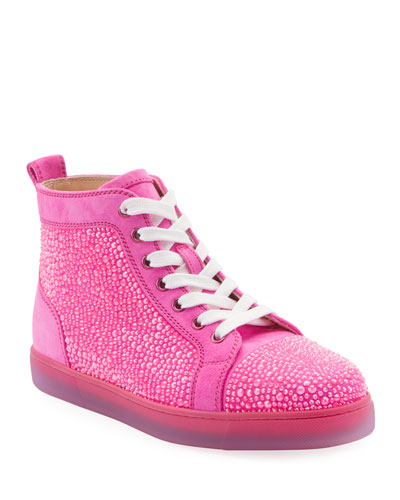 Louis Strass Red Sole Sneakers