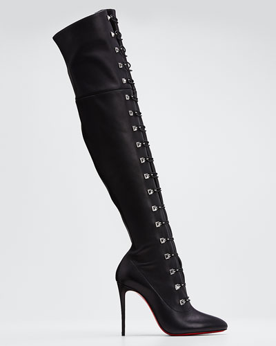 So Frenchissima Tall Leather Boots