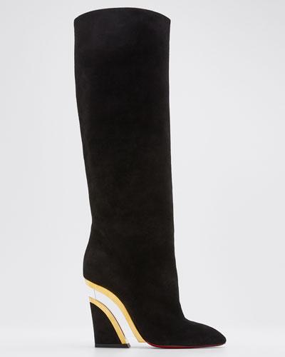 Leviti Botta Plexi-Heel Tall Boots