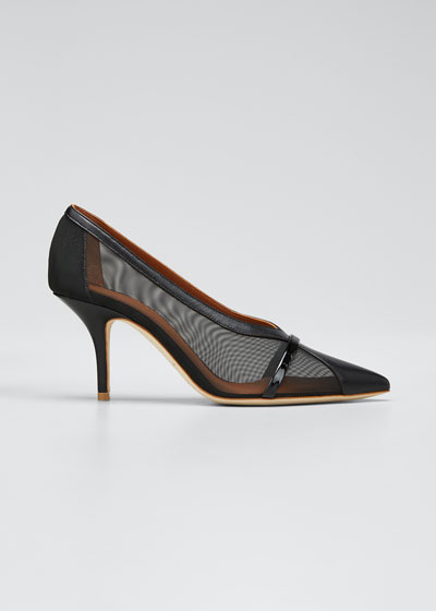 Brook 70mm Sheer Mesh Pumps
