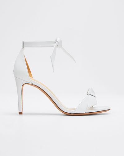 Clarita Tie Leather Sandals