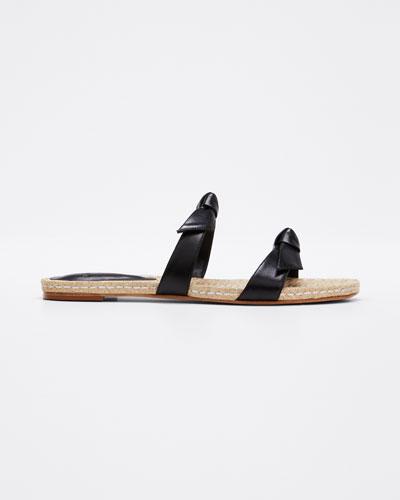 Clarita Braided Flat Sandals
