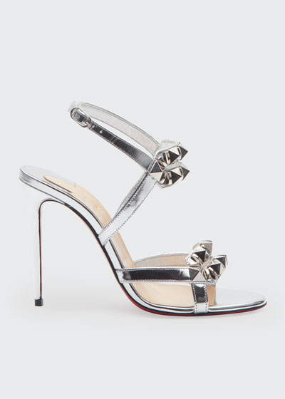 Galerietta 100 Metallic Red Sole Sandals