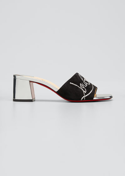 Dear Home 55 Red Sole Slide Sandals