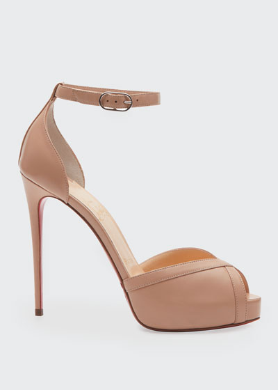 Very Cathy 120 Red Sole Sandals
