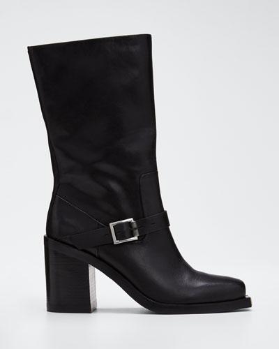 Fallon High Leather Boots