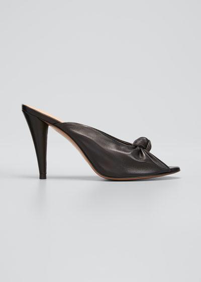 Pari Knotted Napa Heel Slide Sandals