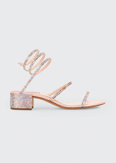 Crystal Snake 40mm Sandals