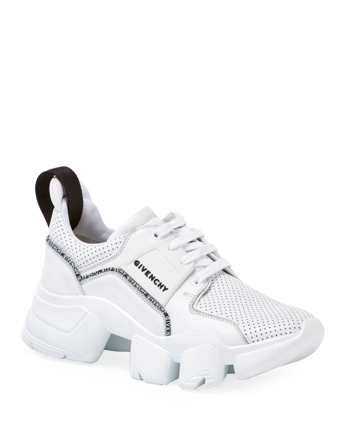 Givenchy Sneakers JAW LOW-TOP PERFORATED LEATHER SNEAKERS