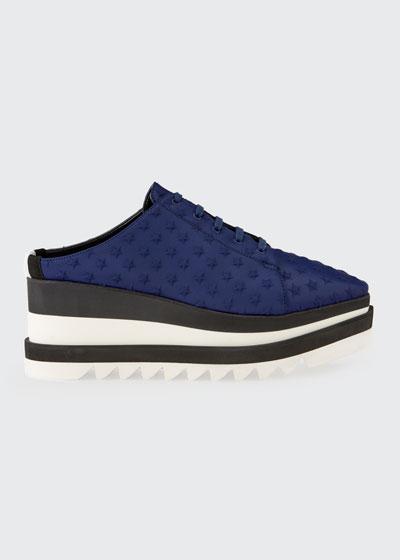 Sneakelyse Lace-Up Star Mule Sneakers