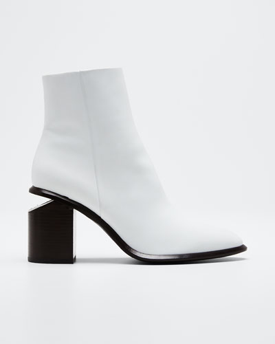 80mm Anna Mid-Heel Booties