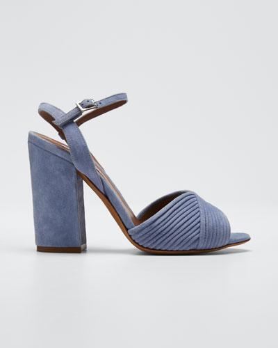 Kali Bis Suede Heeled Sandals