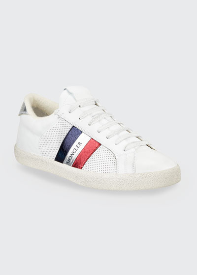 Ryegrass Leather Logo Stripe Sneakers