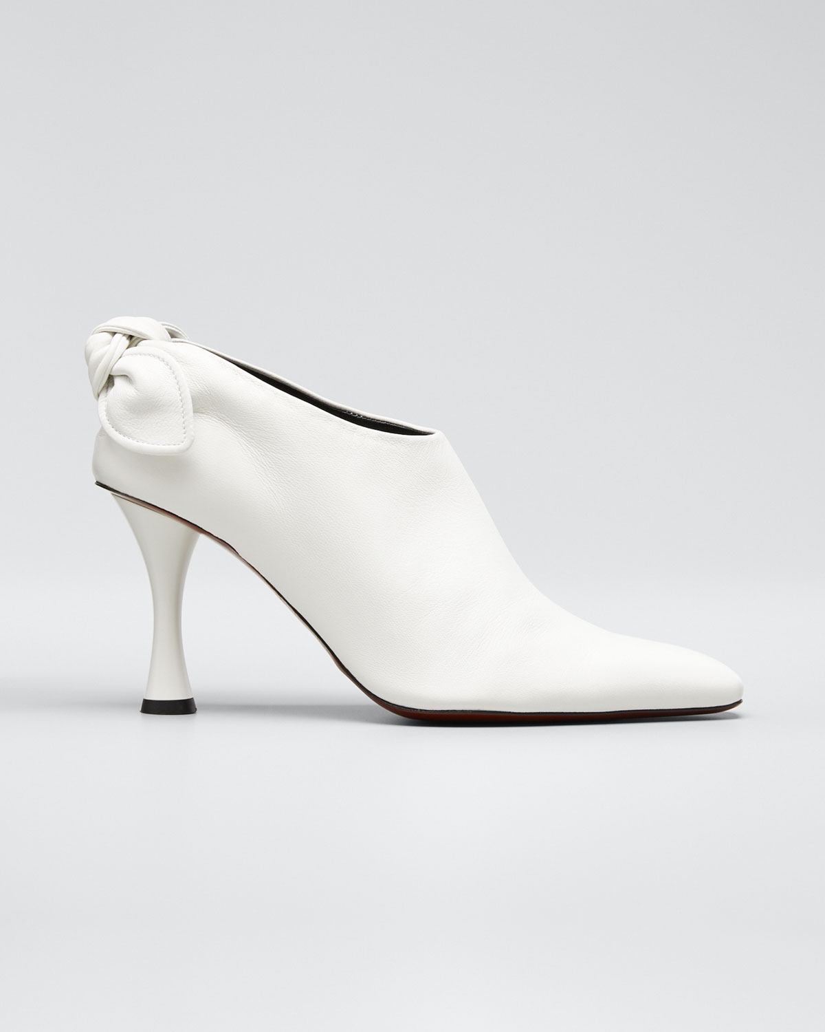 Proenza Schouler Boots VASE KNOTTED ANKLE BOOTIES