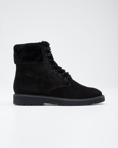 Hayes 2 Water-Repellant Shearling-Lined Lace-Up Boots