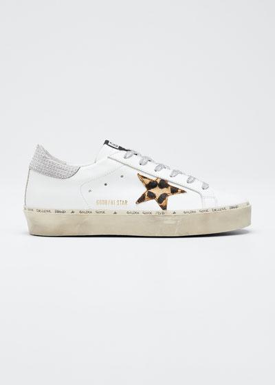 Hi Star Leopard Metallic Sneakers