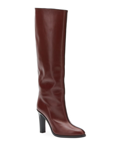 Wide Shaft Tall Boots