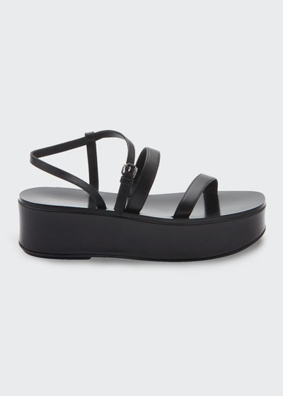 Wedge Strappy Platform Sandals