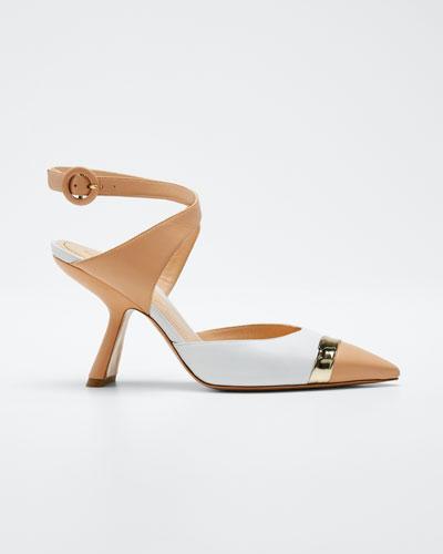 Lexi Strap Ankle Pumps