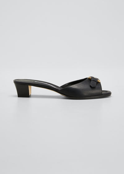 Jarra Napa Buckle Slide Sandals
