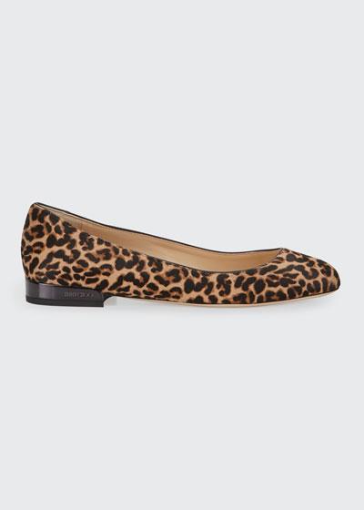 Jessie Leopard-Print Ballerina Flats