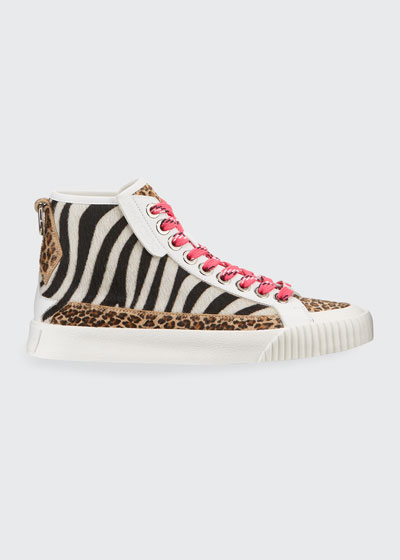 Impala Animal Print High-Top Sneakers