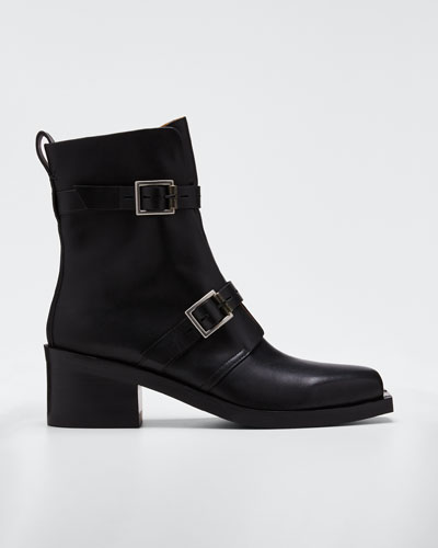 Fallon Leather Booties