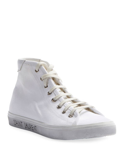 Malibu Canvas High-Top Sneakers