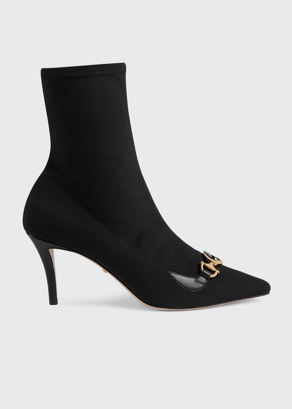 Gucci Boots ZUMI 75MM STRETCH BOOTIES