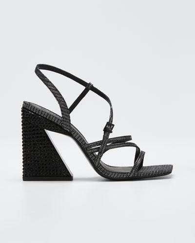 Keliseh Strappy Fabric Sandals