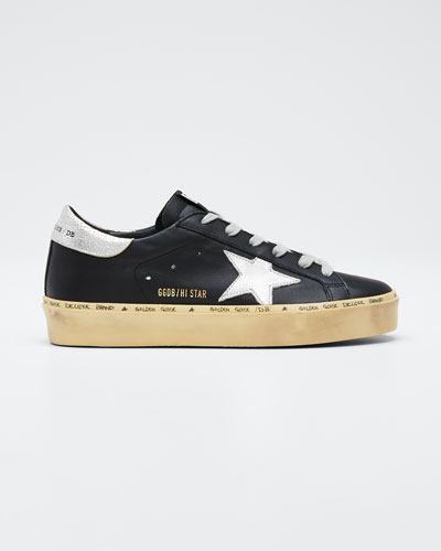 Hi Star Leather Low-Top Sneakers