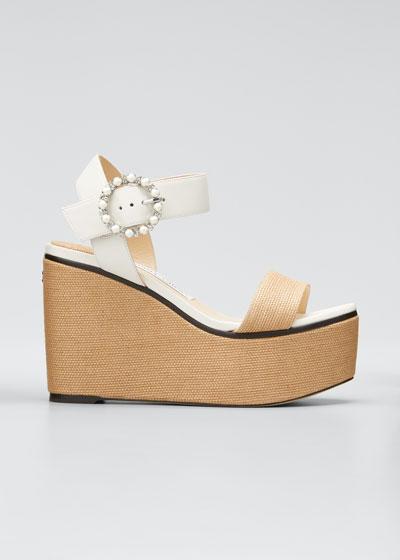 Abigail Platform Wedge Sandals