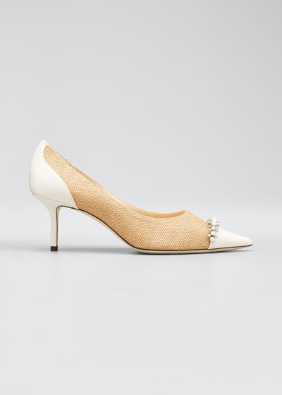 Love Two-Tone Pearly Pumps