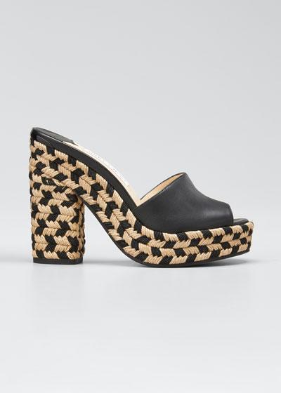 Deedee Bicolor Slide Sandals