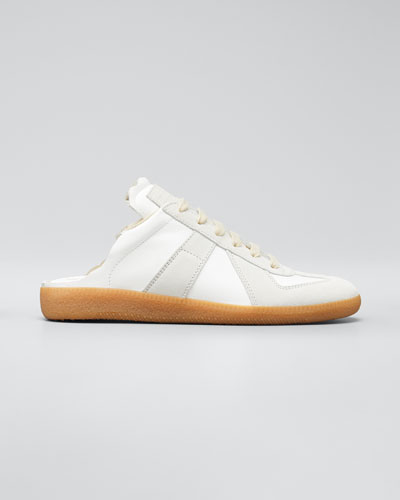 Replica Ripped Open-Back Sneakers
