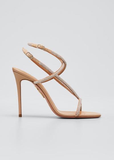 Moondust Shimmery Stiletto Sandals