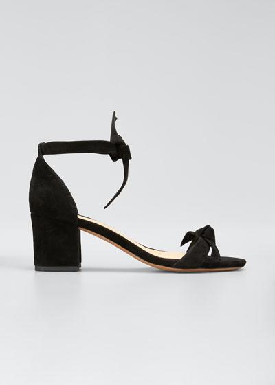 Clarita Suede 60mm City Sandals