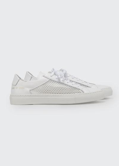 Achilles Summer Mesh Low-Top Sneakers